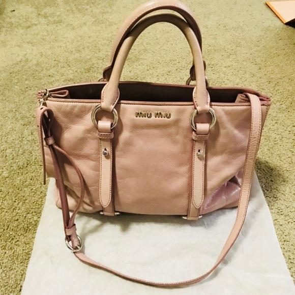 Authentic MIU MIU 2way bag. M 5aa8057ecaab449795478484 7cb7be66ed86a